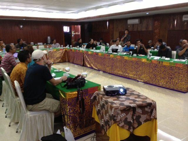 キックオフカンファレンスに村落から40名以上が参加(インドネシア防災活動レポート)