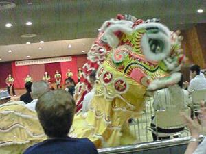 中華同文の獅子舞