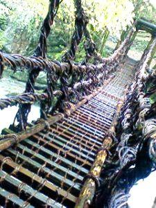 徳島へ かずら橋
