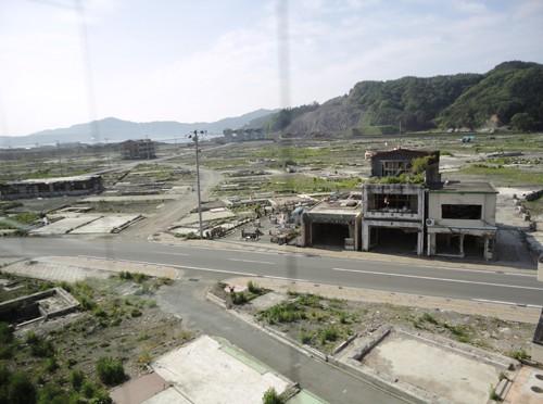 水曜まちイキ・ボランティアスタッフ はまのかずみさんが、岩手県の大槌町にてボランティア活動をしてきました。