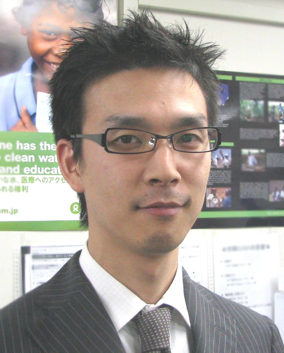 Takumo Yamada, Oxfam Japan