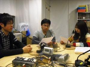 関西学院大学生青柳、加藤、森永