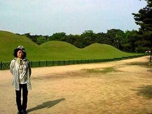韓国・慶州 朴氏の始祖「新羅王」の稜
