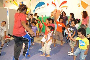 在日アフリカンの子ども達のダンス
