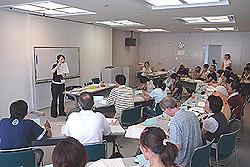 日本語教師の授業風景