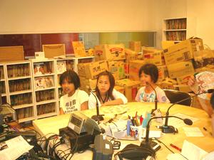 ベトナムの女の子達