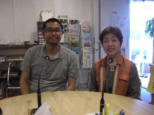 TCCインフォメーションのゲストの名田さん
