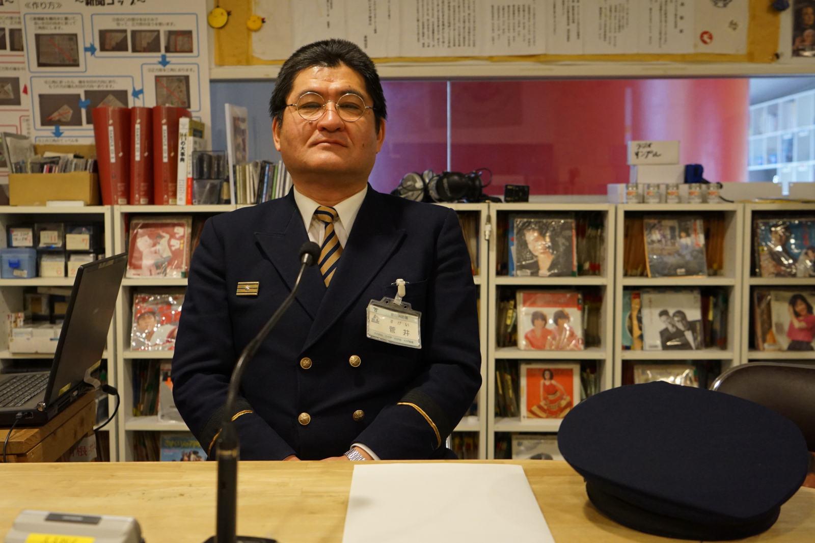 長田消防 菅井晶さん
