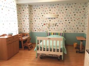 子どもホスピスの病室