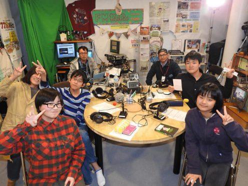 写真:放課後ジュニアラジオ部の配信風景