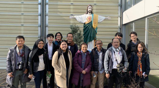 コミュニティAD2020年2月20日Sponsored by Sasakawa Peace Foundation Overseas press visited FMYY