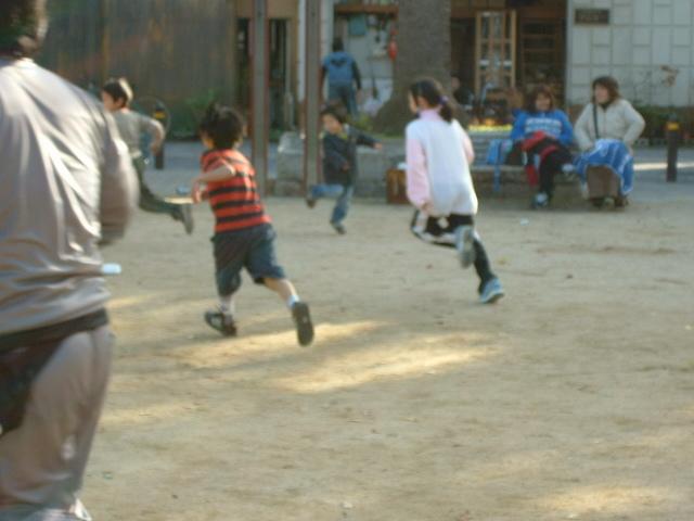 サッカー教室写真